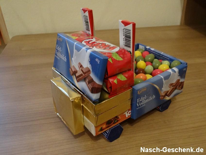 Süßigkeiten Truck mit Ladung